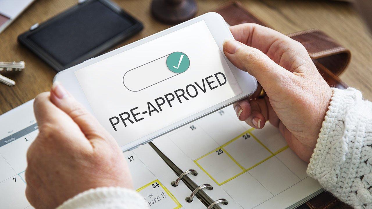 pre approval